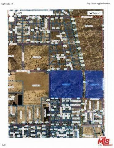 4370 Nevada Highway 160, 17234534, Land,  for sale
